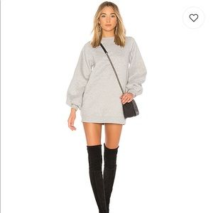 Lovers & friends Jessa sweatshirt dress sz XS